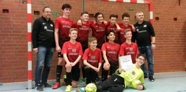 U14 gewinnt erneut die Hallenkreismeisterschaft